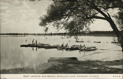Boat Landing and Beach, McCullom Lake