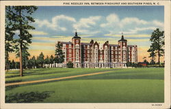 Pine Needles Inn, Between Pinehurst and Southern Pines