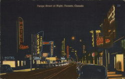 Yonge Street at Night