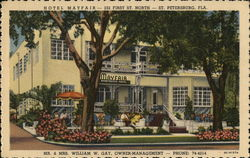 Hotel Mayfair-232 First St. North Mr & Mrs. William W.Gay, Owner-Management-Phone 74-4214