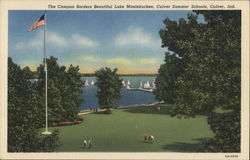 Campus Borders Beautiful Lake Maxinkuckee