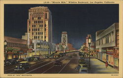 Miracle Mile, Wilshire Boulevard