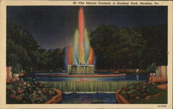 Electric Fountain in Hershey Park
