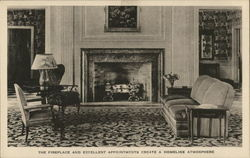 The Dearborn Inn - The Fireplace and Excellent Appointments Create a Homelike Atmosphere