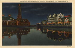 Casino and North End Hotel at Night, Asbury Park