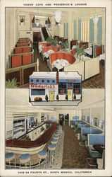 Tower Cafe and Frederick's Lounge Postcard