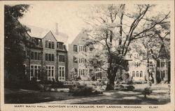 Mary Mayo Hall, Michigan State College
