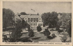 Louise Campbell Hall, Michigan State College