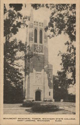 Beaumont Memorial Tower, Michigan State College