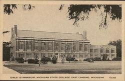 Girls' Gymnasium, Michigan State College