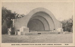 Band Shell, Michigan State College