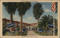 """The Friendly On The Desert"" Hotel Indio"