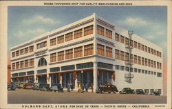 Holman's Dept. Store for over 56 years