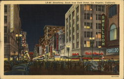 Broadway, South from Sixth Street