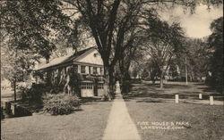 Fire House & Park