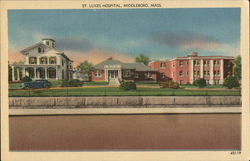 St. Lukes Hospital Postcard