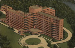 Aerial View of Veterans; Hospital