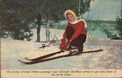 COLONIAL AIRLINES Ski-Plane Service