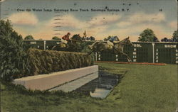 Over the Water Jump, Saratoga Race Track