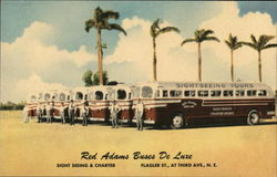Red Adams Sightseeing Buses De Luxe
