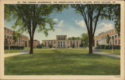 The Library Quadrangle, the Pennsylvania State College