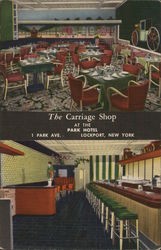 The Carriage Shop at the Park Hotel Postcard