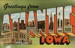 Greetings from Atlantic, Iowa