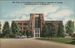 Vista on the Campus of the University of Wyoming at laramie Postcard