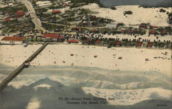 Aerial View, Showing Surf