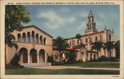 Annie Russel Theatre and Knowles Memorial Chapel, Rollins College