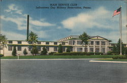 Main Service Club Postcard