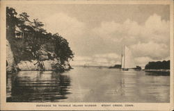 Entrance to Thimble Island Harbor