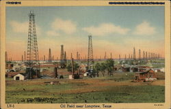 Oil Field Postcard