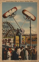 Loop-O-Plane - One of Coney's Thrilling Rides