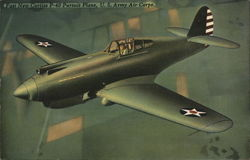 Fast New Curtiss P-40 Pursuit Plane