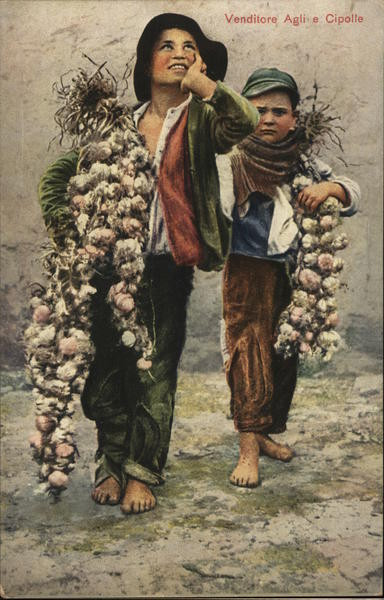 Itiallian Boys, Onion sellers