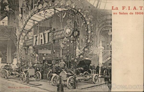 FIAT au Salon de l'Automobile 1906 Cars
