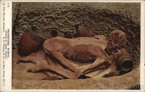 Prehistoric Burial, Found In Upper Egypt Death