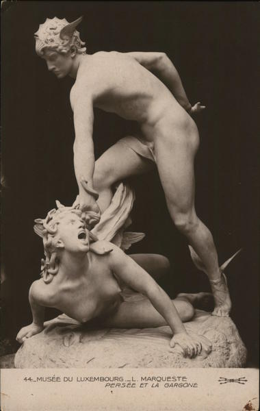 Perseus and the Boy Sculpture & Carving