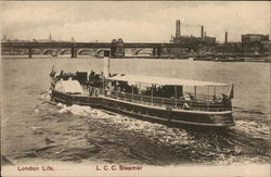 London Life... L.C.C. Steamer