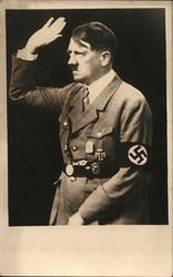 Adolf Hitler Saluting