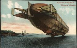 Zeppelin's Dirigible Military Airship