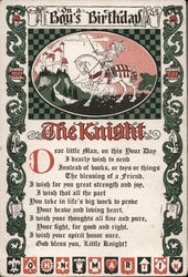 On a Boy's Birthday The Knight
