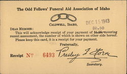 The Odd Fellows' Funeral Aid Association of Idaho
