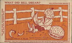 What did Bill dream?