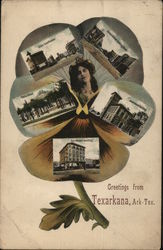 Greetings from Texarkana, Ark-Tex. Pansy