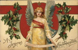 Angel and Holly, A Joyous Christmastide