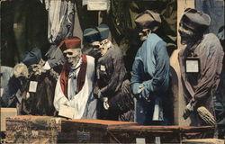 Salutti da Palermo - Catacombe dei Cappucini Dettagli Preti