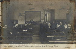 The Sorbonne, Faculty of Letters