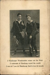 """2 waterrats of Hamburg round the world."""